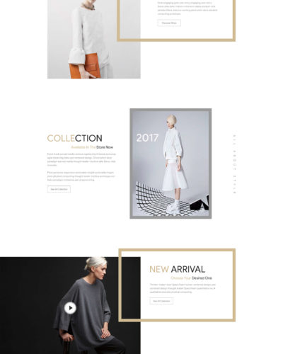 Cloth Collection Website