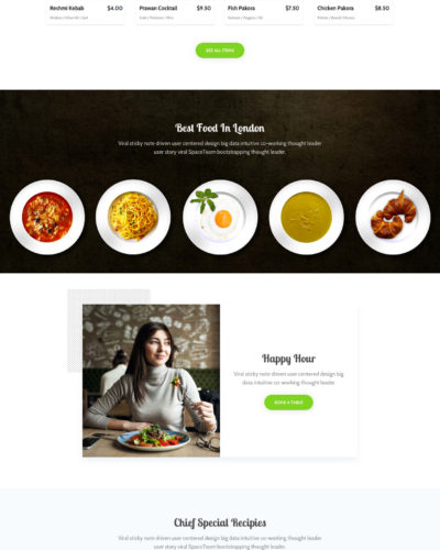 Food Shop Website
